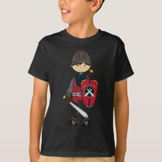 Cute Medieval Knight Tee