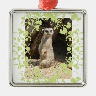 Cute Meerkat Christmas Ornament