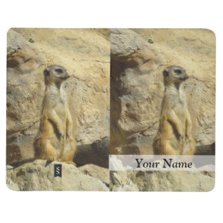 Cute meerkat photograph journal