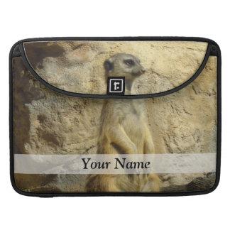 Cute meerkat photograph sleeve for MacBook pro