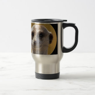 """Cute meerkat"" Travel Mug"