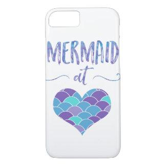 Cute Mermaid at Heart iPhone 7 Case