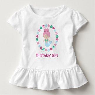 Cute Mermaid Birthday Girl Shirt