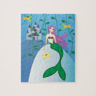 Cute Mermaid Jigsaw Puzzle