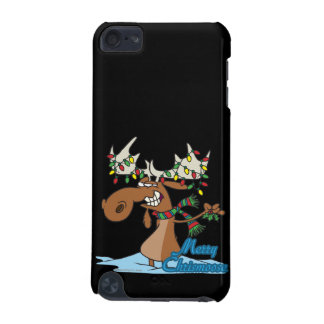 cute merry chrismoose silly christmas moose iPod touch 5G case