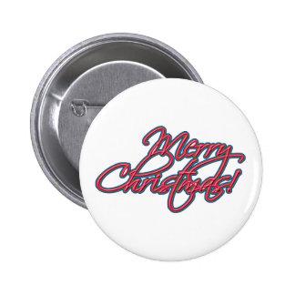 Cute Merry Christmas Button!
