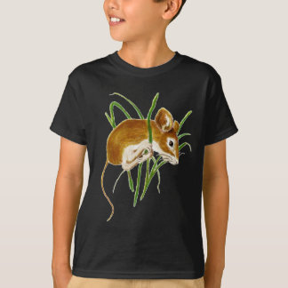 Cute Mice,Mouse Watercolor Animal Nature T-Shirt