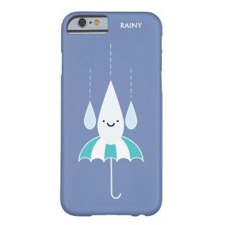 Cute Minimal Rainy Day iPhone 6/6s Case