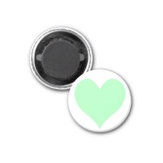 Cute Mint Green Heart Magnet
