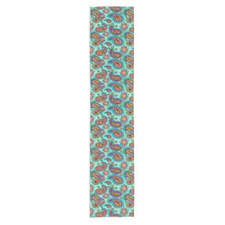 Cute Mint Green Pink Paisley Pattern Boho