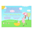 Cute Modern Mum and Baby Girl Baby Sprinkle Card