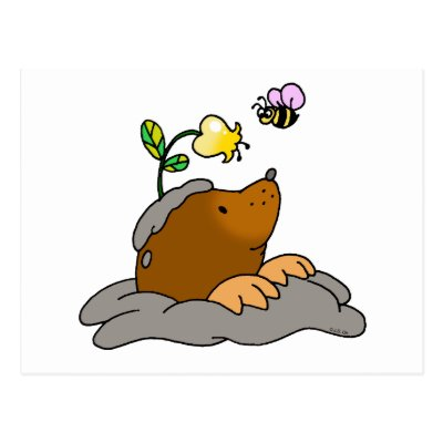 a mole of moles cartoon avogadro constant postcard zazzle co uk rh zazzle co uk Cartoon Mole in Hole Whack a Mole Cartoon