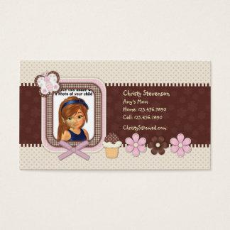 Cute Mommy Calling Card