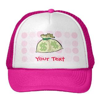 Cute Money Bags Mesh Hat