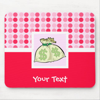 Cute Money Bags Mouse Pad