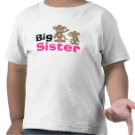 Cute Monkey Big Sister Shirt