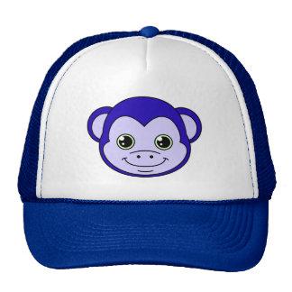 Cute Monkey Blueberry Cap