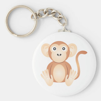 Cute Monkey Cartoon Key Chain