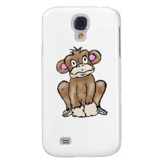 Cute Monkey Galaxy S4 Case