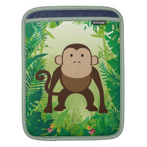 Cute Monkey Sleeve For iPads