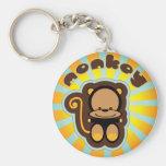 cute monkey keychains