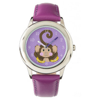 Cute Monkey Kids Watch
