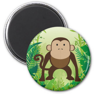 Cute Monkey Refrigerator Magnets