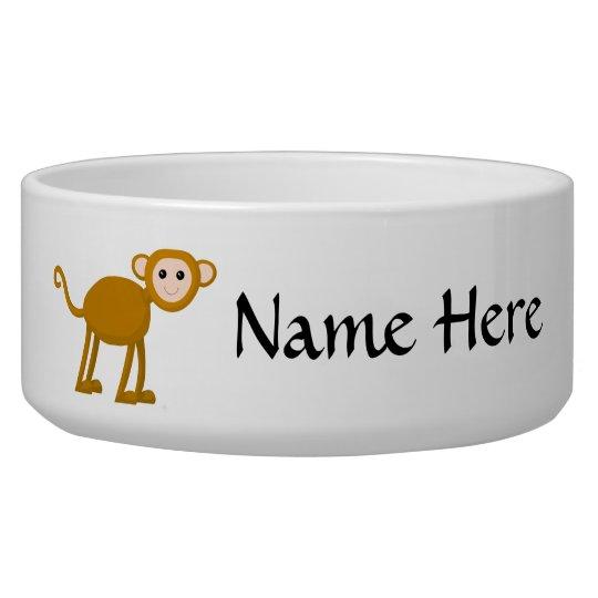 Cute Monkey. Pet Water Bowls