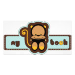 cute monkey picture card