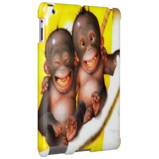 Cute Monkeys iPad Case