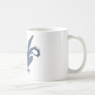 Cute Monster Basic White Mug