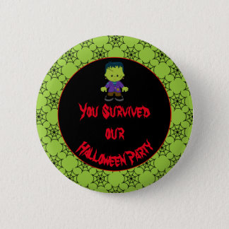 Cute Monster Boy Halloween Costume Party 6 Cm Round Badge