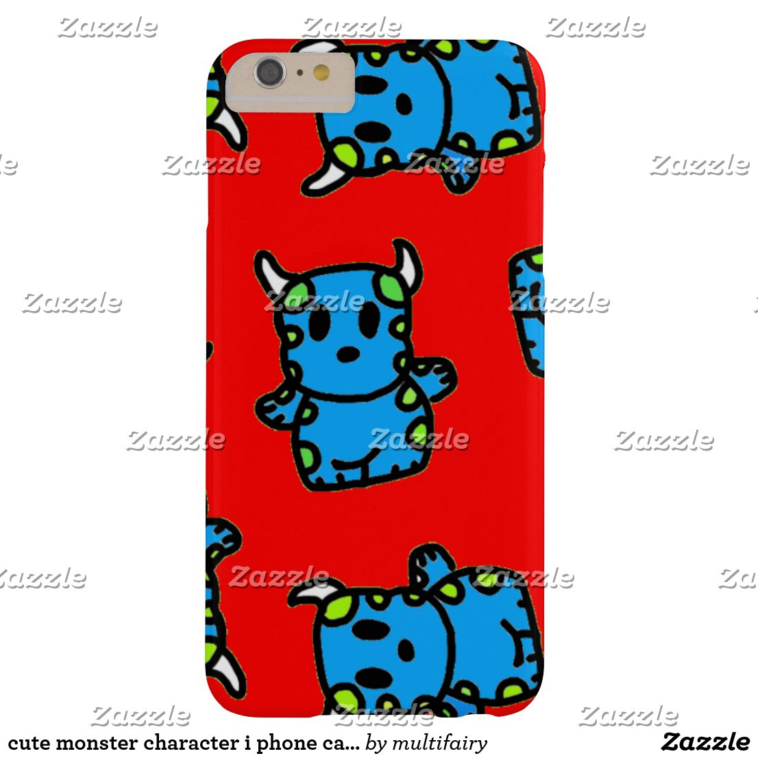 cute monster character i phone case phone case