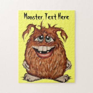 Cute Monster Customizable Puzzle