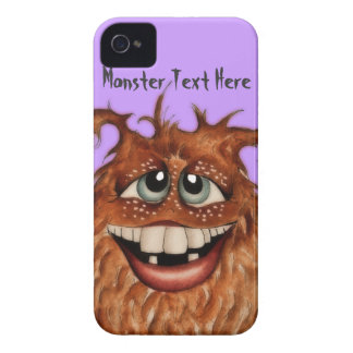 Cute Monster Face iPhone 4 Case
