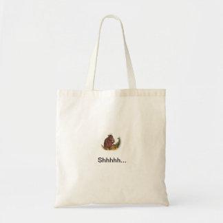 cute monster hush bag