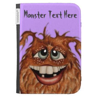 Cute Monster Kindle Case