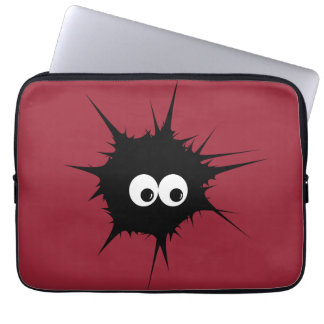 Cute monster laptop sleeve