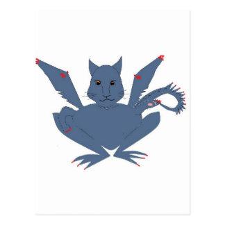 Cute Monster Postcard