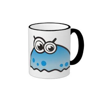 cute monster ringer mug