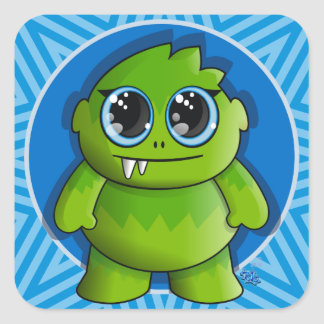 cute monster sticker richard legarreta