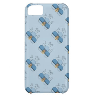 Cute Monster With Blue Frosted Cupcakes iPhone 5C Cover