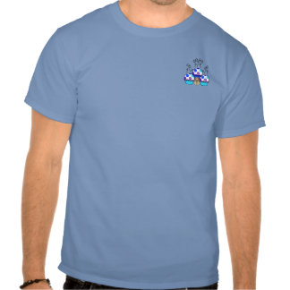 Cute Monster With Blue & Purple Polkadot Cupcakes T-shirt