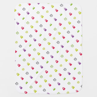 Cute Monsters Soft Baby Blanket