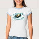 Cute Monterey Otter Travel Shirts