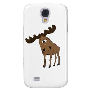 Cute moose galaxy s4 cases