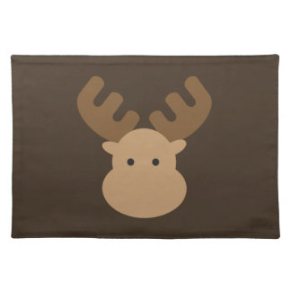 Cute Moose Cloth Placemat