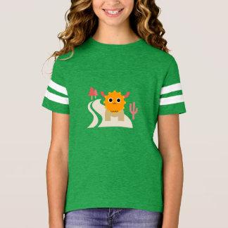 Cute Moose Girls' Football Shirt