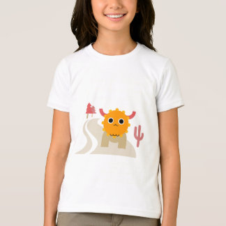 Cute Moose Girls' Jersey T-Shirt