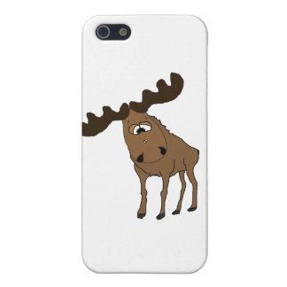 Cute moose iPhone 5/5S cover
